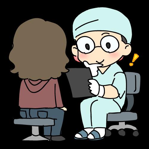 歯医者さんで相談